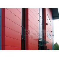 Quality 1.5mm / 2mm / 2.5mm / 3mm / 4mm Aluminium Wall Panels In Red for sale