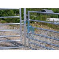 Buy Free Standing Powder Coated Metal Fence Panels , Plate For Animals' Prairie at wholesale prices