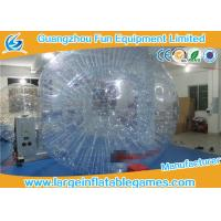 Quality Adult Inflatable Giant Zorb Ball , Inflatable Hamster Ball For Humans for sale