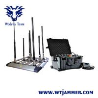 Quality Multi - Band Mobile Phone Portable Signal Jammer Walky - Talky  Output Power Selectable for sale