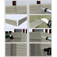 Quality Decorative Fiber Cement Siding That Looks Like Wood , Exterior Cement Board Siding for sale