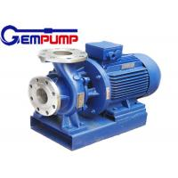 Quality ISW Horizontal  Hot Water Booster Pump / Pipe Centrifugal Pump for sale