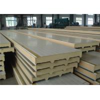 Quality Polyurethane Structural Insulated Sandwich Panels For Freezer Cold Storage Room for sale