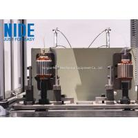 Quality Auto Single flyer and 2 stations BLDC External Rotor Winding Machine for fan motor for sale