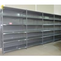 China Four Posts Supermarket Display Shelf , 2.5mm Straight Brackets Medium Duty Shelving on sale