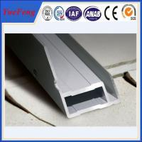 Quality open style free mold aluminium profile solar, Quality Aluminum Extrusion manufacturer for sale