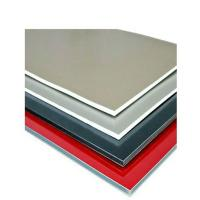 Quality Brushed Aluminium Composite Sheet Anti - Static Mould - Proof Outdoor Use for sale