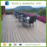 China HEYA wpc outdoor decking board products manufacturing company on sale