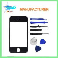 Buy cheap OEM iPhone 4 iPhone LCD Screen Replacement Front Outer Glass Lens from wholesalers