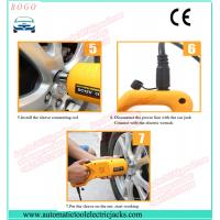 Chinese manufacture 2 tons electric scissor lifting car jack and electric impact