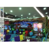 Buy Stimulating Thriller 6D Movie Theater With Lightning / Rain Digital Special at wholesale prices