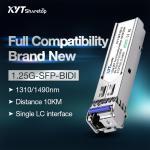 Quality DFB Laser SFP Transceiver Module 1.25G BIDI SFP 40KM SFP LC Transceiver for sale