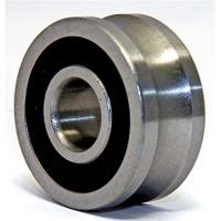 Buy Track roller bearing Angular Contact double rows with groove on outer ring rubber seals at wholesale prices