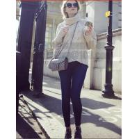 Buy cheap Gray Long Sleeve Turtleneck Pullover Women Fall Winter Warm New Design Loose Casual Cable Knitted Sweater from wholesalers