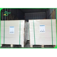 China Food Grade 270GSM 325GSM 350GSM C1S Coated Kraft Board For Dry Food Boxes on sale