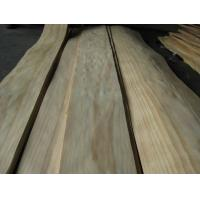 Quality Sliced Radiata Pine Wood Veneer Sheet Crown / Quarter Cut for sale