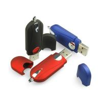 China Classic Style Plastic USB Flash Drives 4GB 8GB 16GB with Data Pre-loading on sale