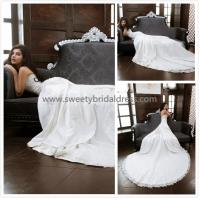 Quality Aline Sweetheart Beading Lace and Satin Wedding Dress XG0015 for sale