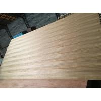 China Natural Burma Teak Fancy Plywood AAA Quality Poplar / Combi Core Design on sale