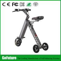 Quality Light Weight Hub Motor Three Wheeled Electric Scooters For Personal Travel 500W for sale