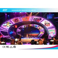 500*1000Mm full color led screen rental or fixed installation die casting aluminum