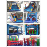 Quality Classic Castle Inflatable Obstacle Combo for sale