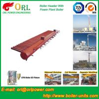 Quality Longitudinal Oil Fired Boiler Header Manifold Once Through For Power Plant for sale