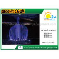 Quality Round Shape Electric Water Fountain , Garden Water Fountains Diameter 4000 MM for sale