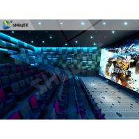 Quality Lifelike Experience 4D Theater Seats Suitable For Hollywood Movies for sale