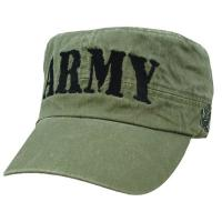 Quality Army Flat Top Army Cap Unisex Cotton Twill Crops Sports Baseball Casquette Type for sale
