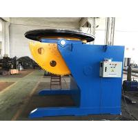 Quality Tilting Rotation Arc Welding Table with Positioner , 2500 mm Table Diameter Servo Rotary Table for sale