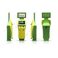 Quality Touch Screen Ticketing, Card printing, Passport Scan Lobby Kiosk / Kiosks for sale