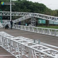 top quality 400*400mm aluminum stage frame truss structure/event lighting spigot dj truss/used aluminum truss for sale