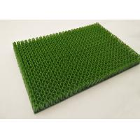 Buy 20mm Plastic Artificial Ski Surface For Outdoor Skiing Slope White / Green at wholesale prices
