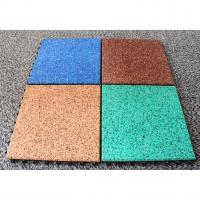 Quality EPDM Rubber Basketball Court Flooring Odorless Slip Resistant Various Colors Available for sale