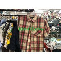 Mens Second Hand Shirts Short Sleeves , British Style Used Mens Shirts