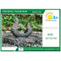 Quality Rolling Granite Ball Fountain , Stone Sculpture Outdoor Garden Fountains for sale