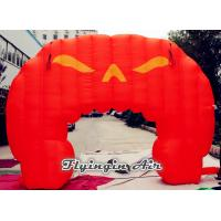 Quality Halloween Decorative Inflatable Pumpkin Arch for Entrance Supplies for sale