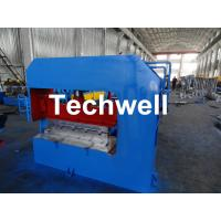 Quality Hydraulic Arch Roof Bending Machine , Roofing Sheet Making Machine High Speed for sale