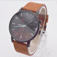 Buy cheap Mens Watches Brown Leather Strap from wholesalers
