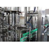 Quality CO2 Drinks Water Carbonated Drink  Filling Machine With Washing / Filling / Capping for sale