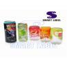 Multi - Pack Printed Heat Shrink Sleeves for Milk Bottle 8 Colors / 0.035mm for sale