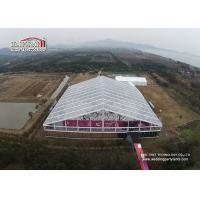 China Transparent 25m Clear Span  Large Aluminum Wedding Marquee Tent  For Temporary Event for sale