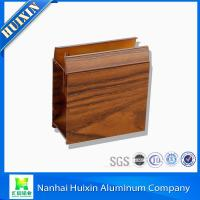 China 6063/6061 Wooden Grain Aluminum Window & Door Extrusion Profiles on sale