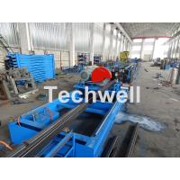 Quality Galvanized Steel Cold Roll Forming Machine With High Speed 12-15m/min For Rack Box Beam / Step Beam for sale