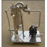 Quality Ss304 Ss316 Stainless Fermentation Tank Movable Bag Filter Housing for sale