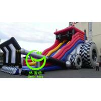 Quality 2016 hot sell  inflatable tank slide with 24months warranty GT-SAR-1617 for sale