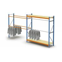 China Steel Adjustable Light Duty Storage Rack / Commercial Pallet Racking For Clothes on sale