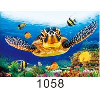 Quality High Definition 3D Lenticular Pictures Gloss Or Matte Varnish Surface for sale