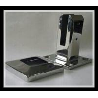Buy cheap Stainless steel 316/316L square base plate glass spigot with polished finish for glass pool from wholesalers